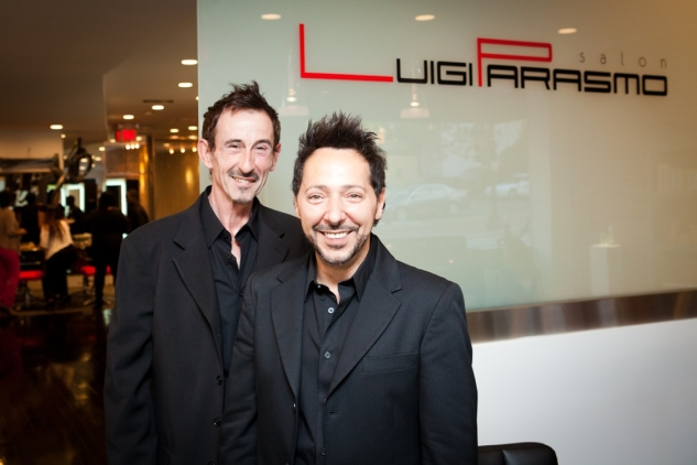 Notables toast opening of georgetown s new luigi parasmo salon